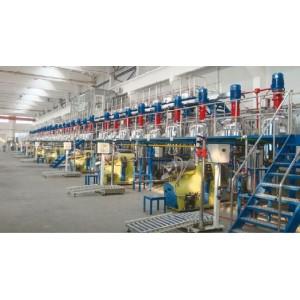 寶駿涂料-年產30000噸集裝箱漆自動化生產線