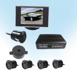 可視倒車雷達可接原車DVD導航