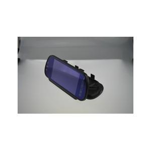 7寸后視鏡顯示器帶藍牙讀卡FM功能