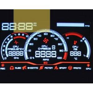 汽車儀表VA黑膜LCD液晶屏