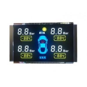 段碼屏胎壓監測屏lcd液晶屏