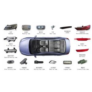 車燈 LED封裝 線束產品