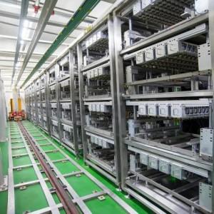 方形硬殼電池化成分容系統