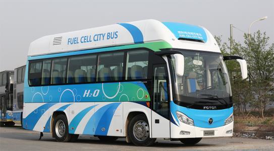 热浪 安徽首批氢燃料电池客车上路