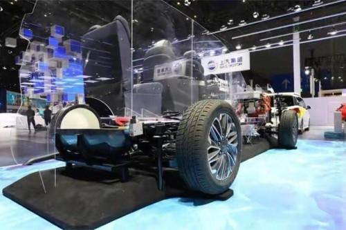 首款燃料电池MPV 大通EUNIQ 7