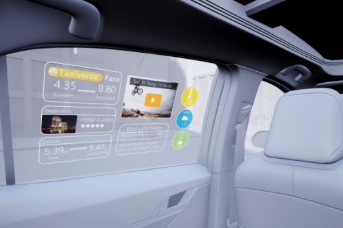 科思創感光薄膜助推汽車透明顯示應用發展
