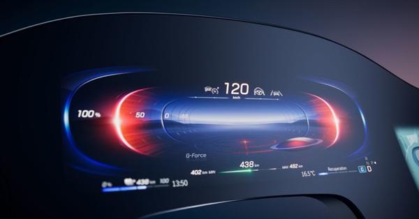 全球首創貫穿互聯大屏!奔馳EQS內飾曝光:尺寸大到寶馬奧迪都不敢信
