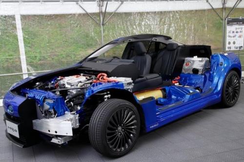 傳豐田將在中國生產燃料電池車核心系統