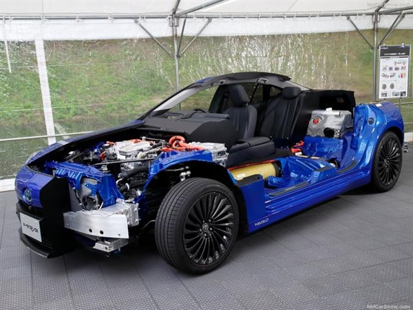5.6Kg氫氣能跑850KM 續航全球新能源汽車之最!豐田全新Mirai發售