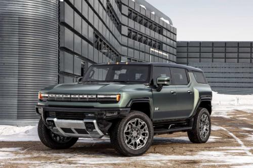 15592牛·米是飛度的100倍!純電悍馬SUV發布