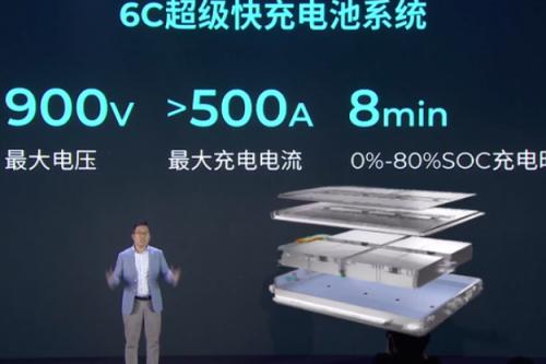 广汽集团首发海绵硅负极片电池技术 续航里程达1000KM