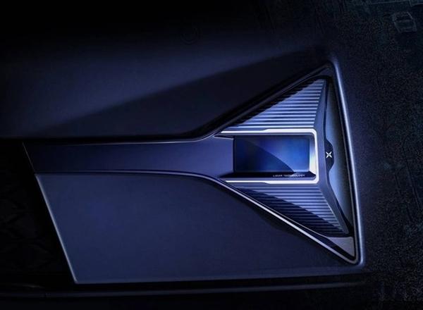 小鹏全新车型预告图:中国首款量产搭载激光雷达的车型稳了