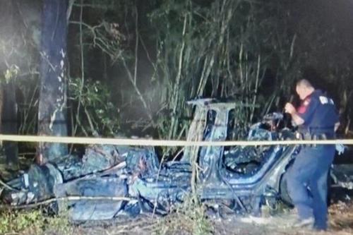 特斯拉撞樹起火致死兩人!美監管機構:已對公眾造成困惑 會盡快發布報告