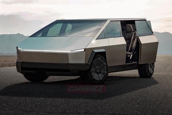 特斯拉全新MPV渲染圖曝光 造型汽車史上絕無僅有