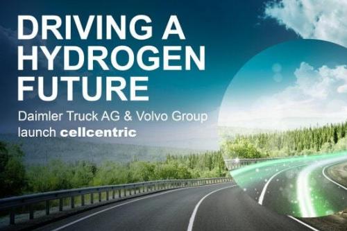 戴姆勒和沃爾沃集團設立燃料電池合資企業cellcentric