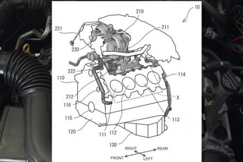 電動化浪潮下 豐田卻在申請新款雙渦輪增壓V8發動機專利