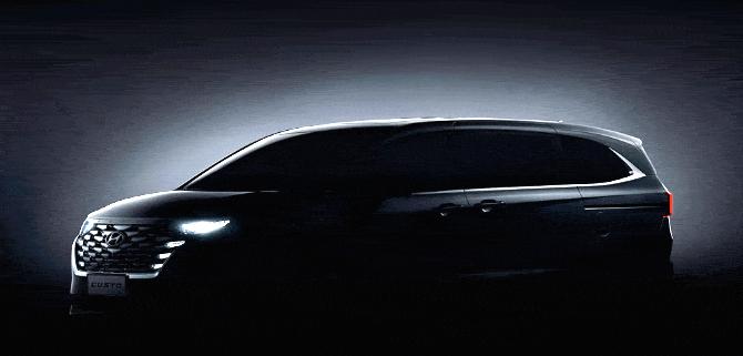 北京現代首款MPV庫斯途即將亮相,瞄準家用定位能獲得認可嗎?