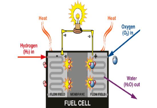 图1:燃料电池工作原理,资料来源:招商证券
