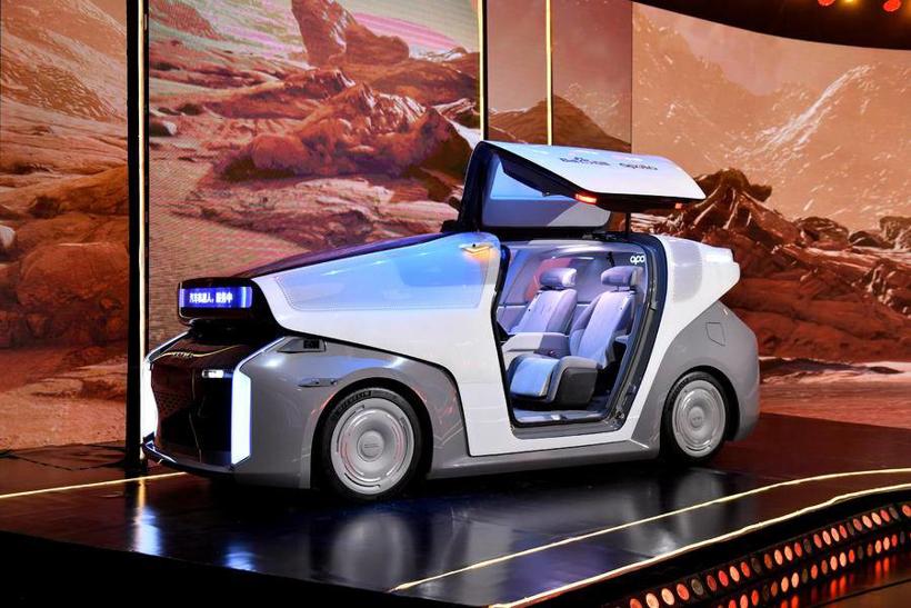 自動駕駛,百度,車機,百度汽車機器人,蘿卜快跑,百度自動駕駛