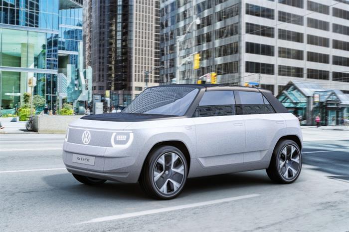 宝马BMW i循环概念车,奔驰EQG概念车,大众ID. LIFE概念车