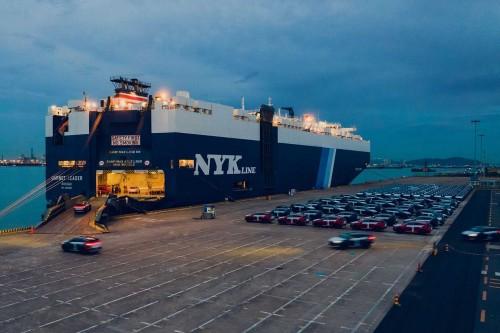 第1000辆比亚迪唐EV发往挪威 今年年底将交付1500辆