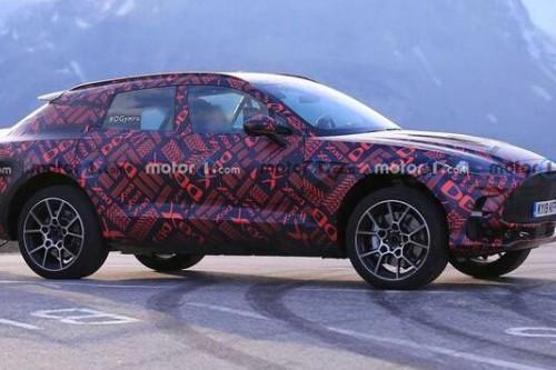 挑戰蘭博基尼Urus 阿斯頓·馬丁將發布DBX S車型